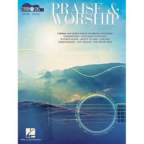 Hal Leonard Praise & Worship - Strum & Sing (Strum & Sing Series) Strum and Sing Series Softcover by Various