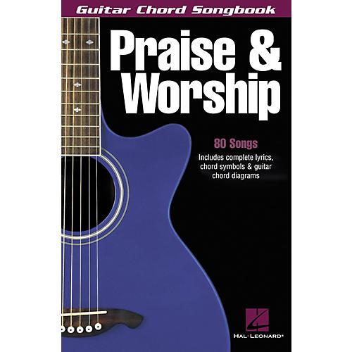 Hal Leonard Praise & Worship Guitar Chord Songbook | Musician\'s Friend