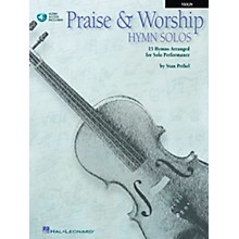 Hal Leonard Praise & Worship Hymn Solos - 15 Hymns Arranged for Solo Performance for Violin Book/CD Pkg