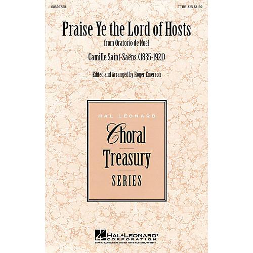 Hal Leonard Praise Ye the Lord of Hosts TTBB arranged by Roger Emerson