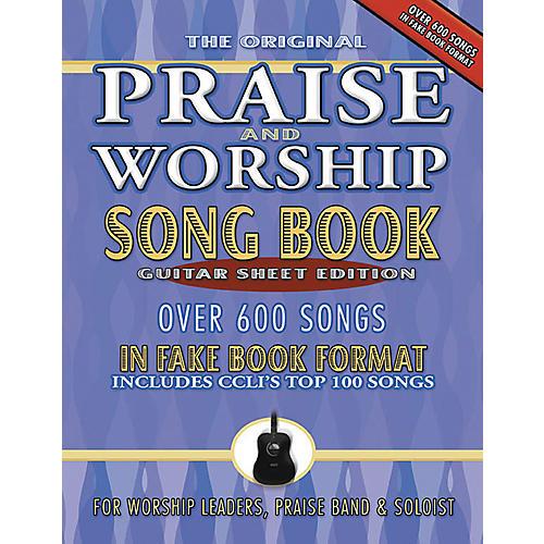 Brentwood-Benson Praise and Worship Fake Book - Guitar