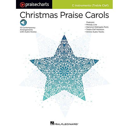 Hal Leonard PraiseCharts - Christmas Praise Carols Praise Chart Series Softcover Audio Online