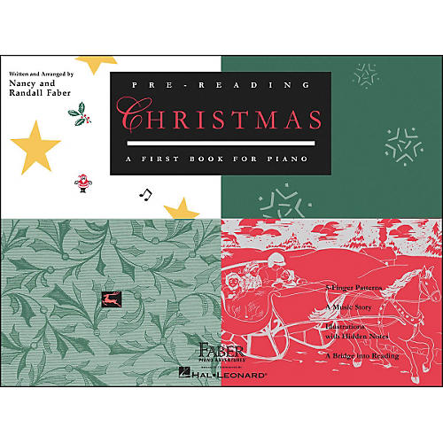 Faber Piano Adventures Pre-Reading Christmas - A First Book for Piano - Faber Piano