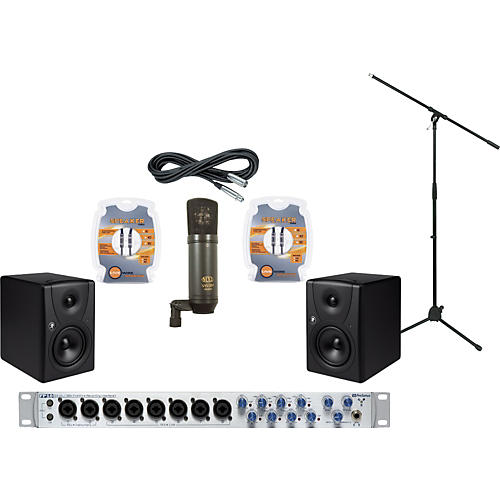 Mackie PreSonus FP10 and Mackie MR5 Recording Package