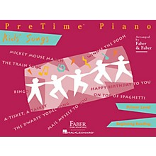 Faber Piano Adventures PreTime Piano Kids' Songs Primer Level