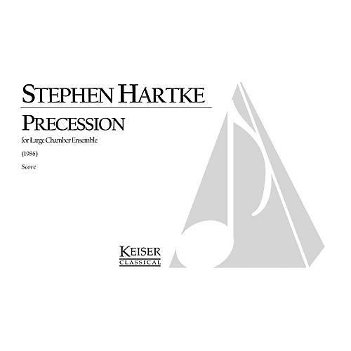 Lauren Keiser Music Publishing Precession (for 13 Instruments) LKM Music Series by Stephen Hartke