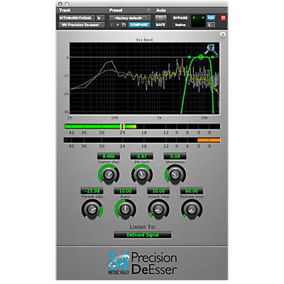 METRIC HALO Precision DeEsser For Pro Tools AAX
