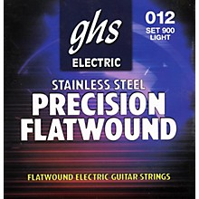 GHS Precision Flatwound Electric Guitar Strings Light