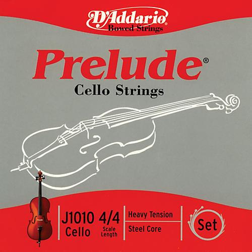 D'Addario Prelude 4/4 Size Heavy Cello String Set