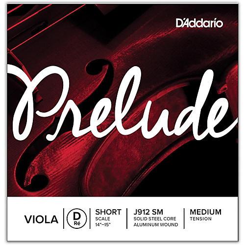 D'Addario Prelude Sereis Viola D String 13-14 Short Scale