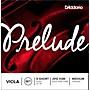 D'Addario Prelude Series Viola String Set 13-14 Extra Short Scale