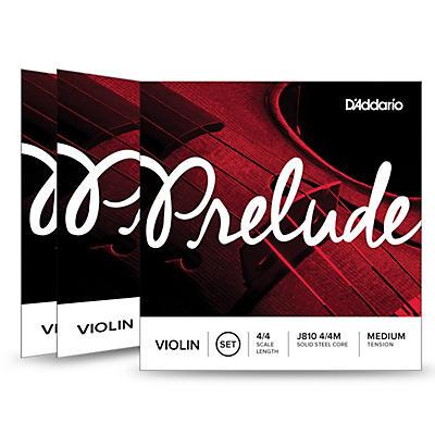 D'Addario Prelude Violin String Set 3 Box Special