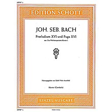 Schott Prelude and Fugue No. 16 in G Minor (from The Well-Tempered Clavier Book 1, BWV 861) Schott Series