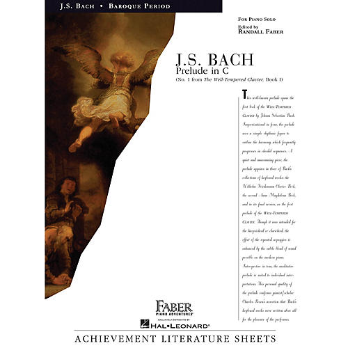 Faber Piano Adventures Prelude in C Faber Piano Adventures® Series Composed by Johann Sebastian Bach