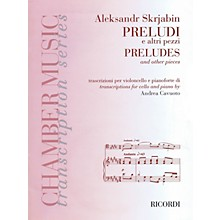 Ricordi Preludes and Other Pieces (Cello and Piano) String Series Softcover