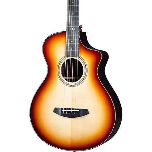 Breedlove Premier Adirondack Spruce-East Indian Rosewood Concertina CE Acoustic-Electric Guitar Burnt Amber Burst