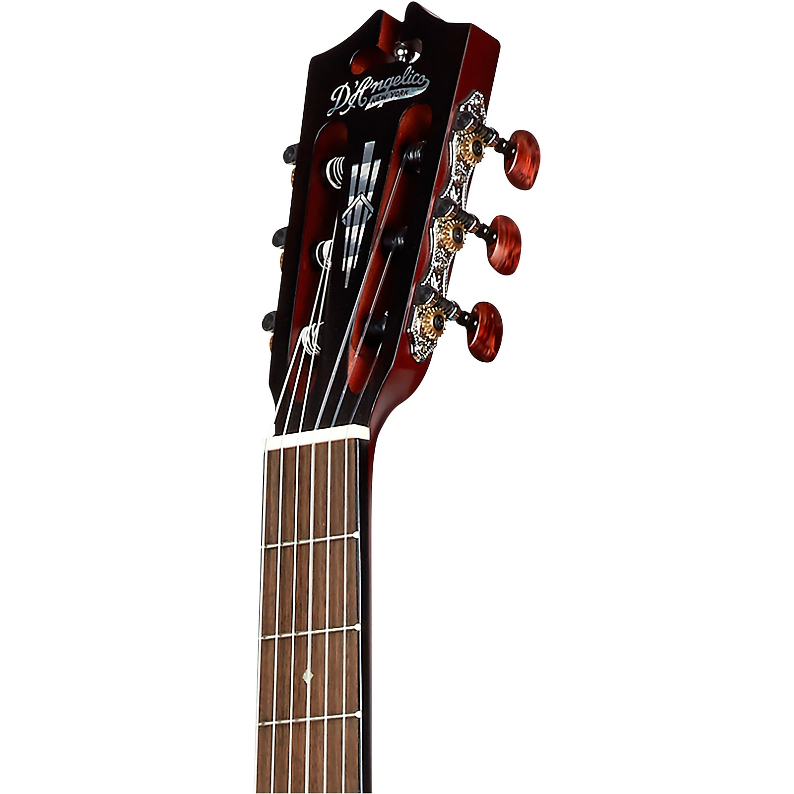 D'Angelico Premier Avellino Crossover Classical Acoustic Guitar  with Cedar Top