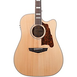 Premier Bowery Acoustic-Electric Guitar Natural