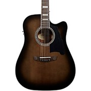 Premier Bowery Dreadnought Acoustic-Electric Guitar Grey Black