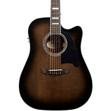 Premier Bowery Dreadnought Acoustic-Electric Guitar Grey Black