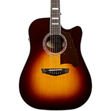 Premier Bowery Dreadnought Acoustic-Electric Guitar Vintage Sunburst