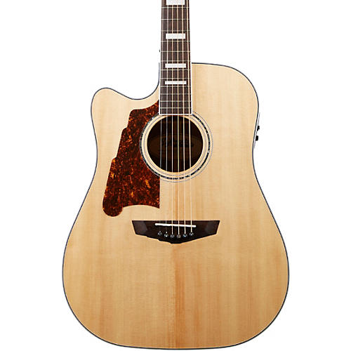 D'Angelico Premier Bowery Left-Handed Dreadnought Acoustic-Electric Guitar
