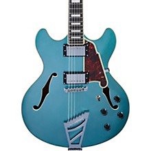 Premier DC Semi-Hollow Electric Guitar with Stairstep Tailpiece Ocean Turquoise