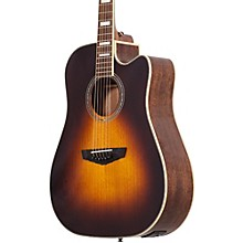 Open Box D'Angelico Premier Delancey Cutaway Dreadnought Acoustic-Electric Guitar