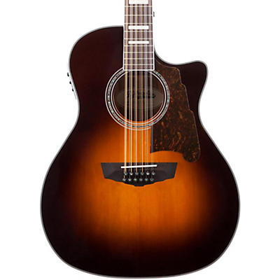 D'Angelico Premier Fulton 12-String Acoustic-Electric Guitar