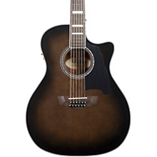 Premier Fulton Grand Auditorium 12-String Acoustic-Electric Guitar Grey Black