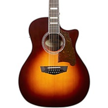Premier Fulton Grand Auditorium 12-String Acoustic-Electric Guitar Vintage Sunburst