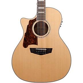 d 39 angelico premier fulton left handed 12 string acoustic electric guitar musician 39 s friend. Black Bedroom Furniture Sets. Home Design Ideas