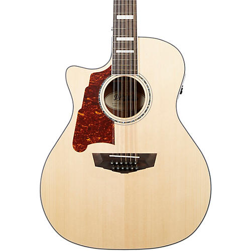 D'Angelico Premier Fulton Left-Handed Grand Auditorium 12-String Acoustic-Electric Guitar