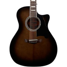 Premier Gramercy Grand Auditorium Acoustic-Electric Guitar Grey Black