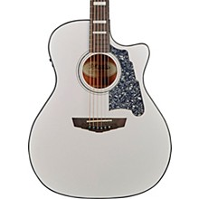 Premier Gramercy Grand Auditorium Acoustic-Electric Guitar Matte White