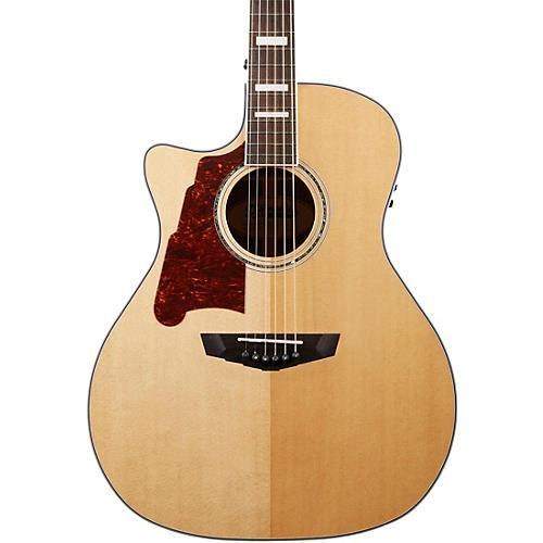 D'Angelico Premier Gramercy Left-Handed Grand Auditorium Acoustic-Electric Guitar