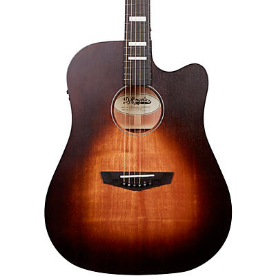 D'Angelico Premier Lafayette Dreadnought Acoustic-Electric Guitar