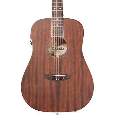 D'Angelico Premier Niagara Mahogany Mini Dreadnought Acoustic-Electric Guitar