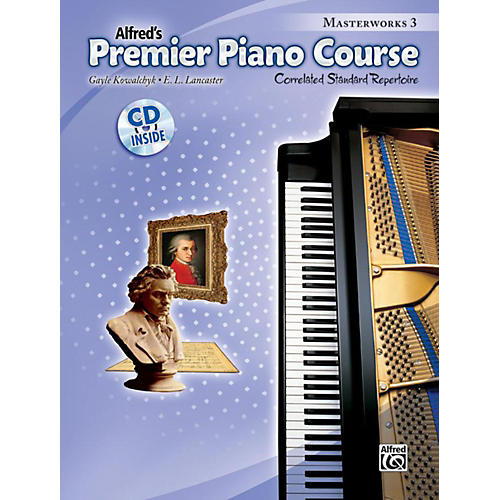 Alfred Premier Piano Course: Masterworks Book 3 & CD