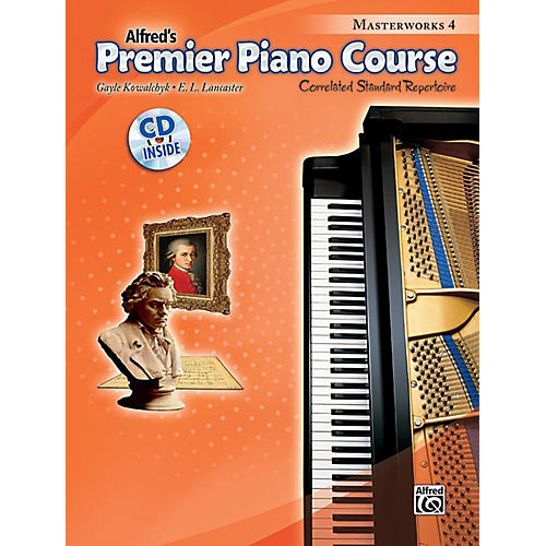 Alfred Premier Piano Course Masterworks Book 4 & CD