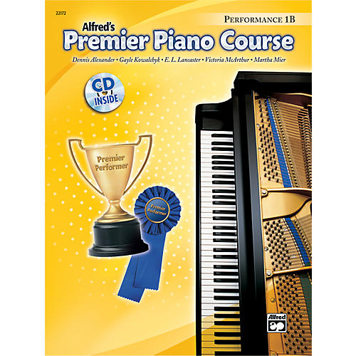 Alfred Premier Piano Course Performance Book 1B Book 1B & CD