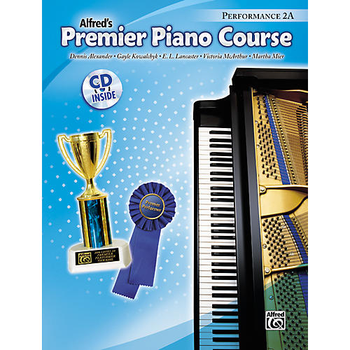 Alfred Premier Piano Course Performance Book 2A Book 2A & CD