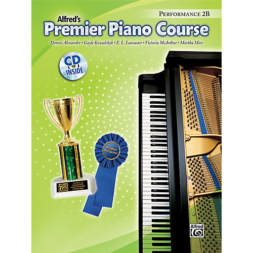 Alfred Premier Piano Course Performance Book 2B Book 2B & CD