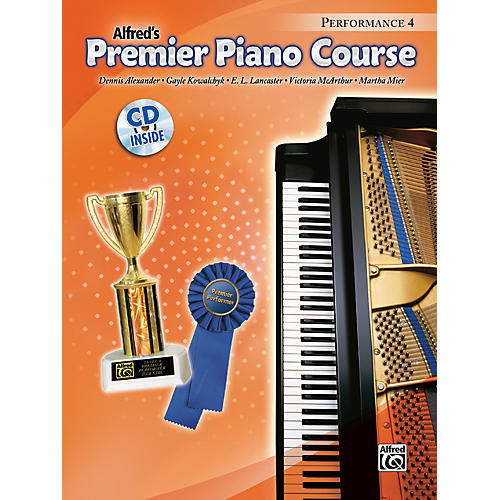 Alfred Premier Piano Course Performance Book 4 Book 4 & CD