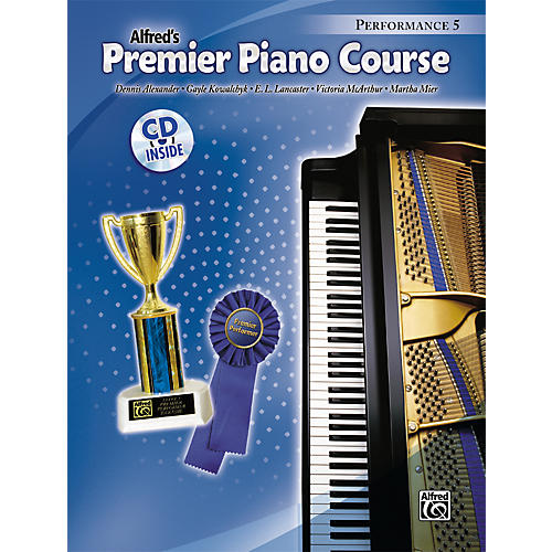 Alfred Premier Piano Course Performance Book 5