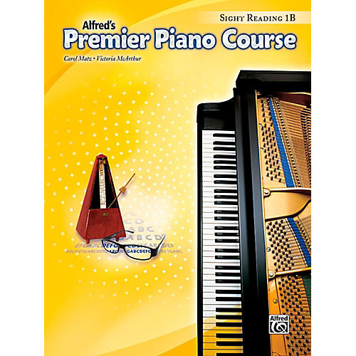 Alfred Premier Piano Course Sight Reading Level 1B Book