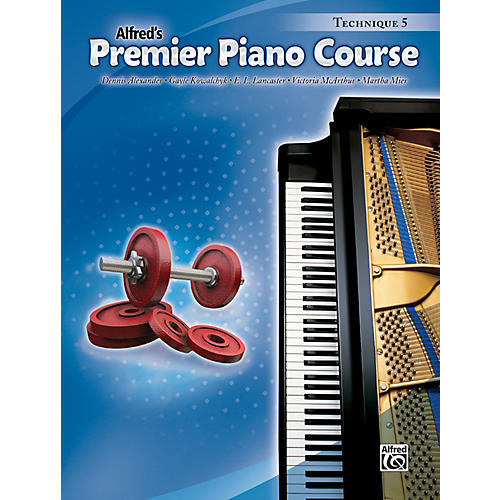 Alfred Premier Piano Course Technique Book 5