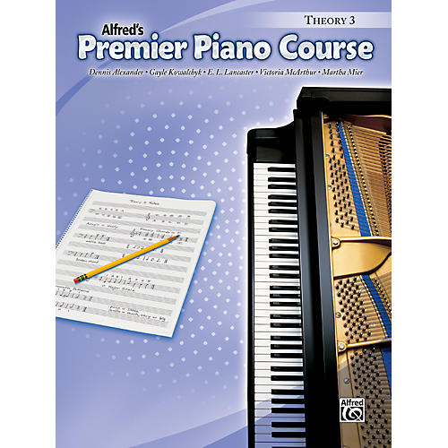 Alfred Premier Piano Course Theory Book 3