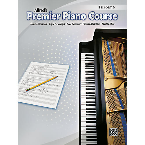 Alfred Premier Piano Course Theory Book 6