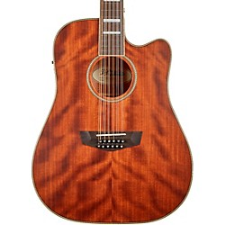 D'Angelico Premier Riverside Dreadnaught 12-String Acoustic-Electric Guitar Natural